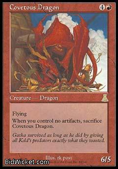 Covetous Dragon, Urza's Destiny, Magic the Gathering