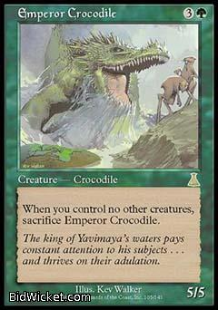 Emperor Crocodile, Urza's Destiny, Magic the Gathering