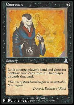 Encroach, Urza's Destiny, Magic the Gathering