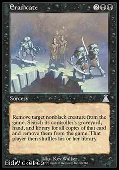 Eradicate, Urza's Destiny, Magic the Gathering