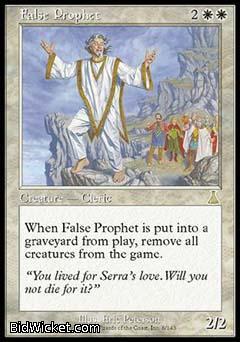 False Prophet, Urza's Destiny, Magic the Gathering