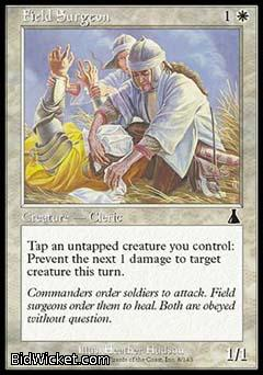 Field Surgeon, Urza's Destiny, Magic the Gathering