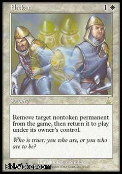 Flicker, Urza's Destiny, Magic the Gathering