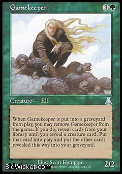 Gamekeeper, Urza's Destiny, Magic the Gathering