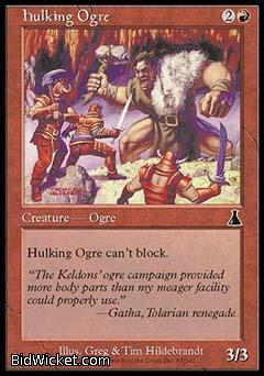 Hulking Ogre, Urza's Destiny, Magic the Gathering