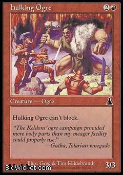 Hulking Ogre, Urza's Destiny, Magic the Gathering