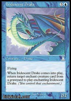 Iridescent Drake, Urza's Destiny, Magic the Gathering