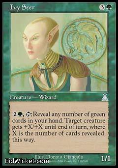 Ivy Seer, Urza's Destiny, Magic the Gathering