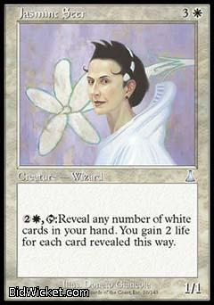 Jasmine Seer, Urza's Destiny, Magic the Gathering