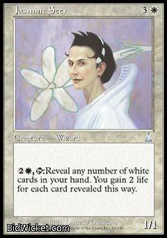 Jasmine Seer, Urza's Destiny, Magic the Gathering