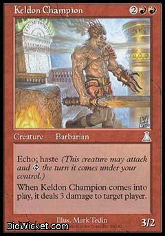Keldon Champion, Urza's Destiny, Magic the Gathering