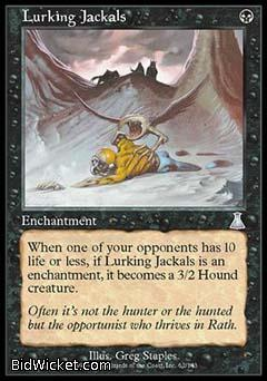 Lurking Jackals, Urza's Destiny, Magic the Gathering