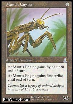 Mantis Engine, Urza's Destiny, Magic the Gathering