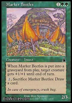 Marker Beetles, Urza's Destiny, Magic the Gathering