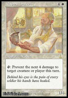 Master Healer, Urza's Destiny, Magic the Gathering