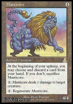 Masticore, Urza's Destiny, Magic the Gathering