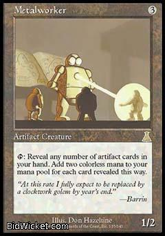 Metalworker, Urza's Destiny, Magic the Gathering