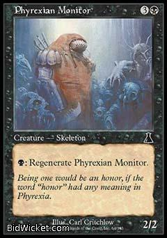 Phyrexian Monitor, Urza's Destiny, Magic the Gathering