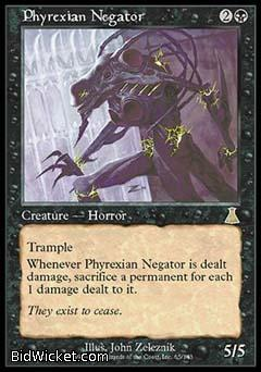 Phyrexian Negator, Urza's Destiny, Magic the Gathering