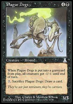 Plague Dogs, Urza's Destiny, Magic the Gathering