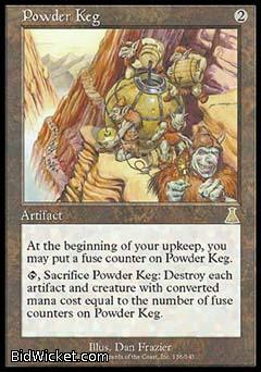 Powder Keg, Urza's Destiny, Magic the Gathering