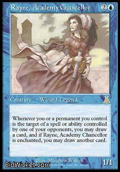 Rayne, Academy Chancellor, Urza's Destiny, Magic the Gathering
