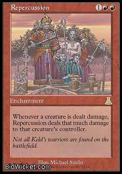 Repercussion, Urza's Destiny, Magic the Gathering