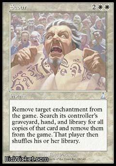 Scour, Urza's Destiny, Magic the Gathering