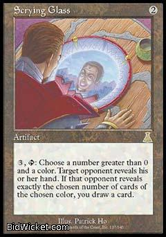 Scrying Glass, Urza's Destiny, Magic the Gathering