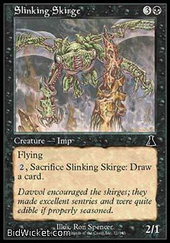 Slinking Skirge, Urza's Destiny, Magic the Gathering