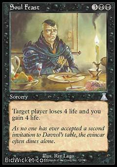 Soul Feast, Urza's Destiny, Magic the Gathering