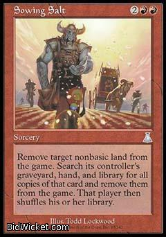 Sowing Salt, Urza's Destiny, Magic the Gathering