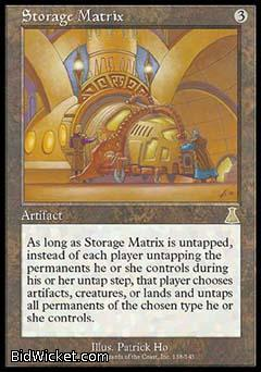 Storage Matrix, Urza's Destiny, Magic the Gathering