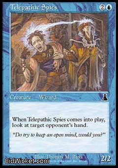 Telepathic Spies, Urza's Destiny, Magic the Gathering