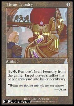 Thran Foundry, Urza's Destiny, Magic the Gathering