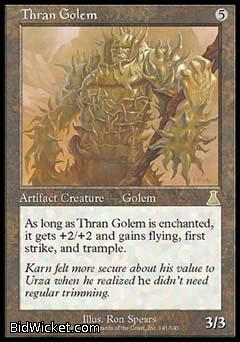 Thran Golem, Urza's Destiny, Magic the Gathering