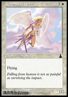Tormented Angel, Urza's Destiny, Magic the Gathering