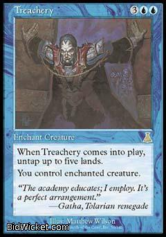 Treachery, Urza's Destiny, Magic the Gathering