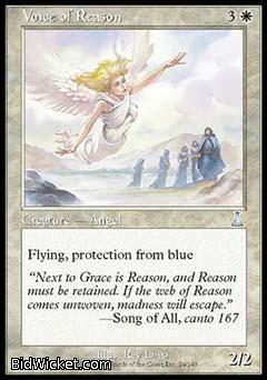 Voice of Reason, Urza's Destiny, Magic the Gathering
