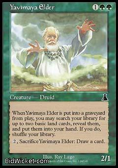 Yavimaya Elder, Urza's Destiny, Magic the Gathering