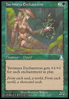 Yavimaya Enchantress, Urza's Destiny, Magic the Gathering