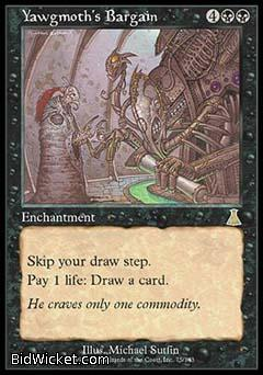 Yawgmoth's Bargain, Urza's Destiny, Magic the Gathering