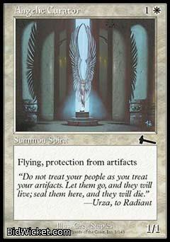 Angelic Curator, Urza's Legacy, Magic the Gathering