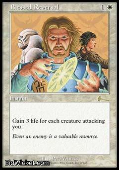 Blessed Reversal, Urza's Legacy, Magic the Gathering