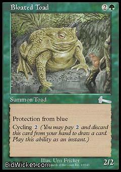 Bloated Toad, Urza's Legacy, Magic the Gathering