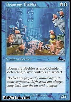 Bouncing Beebles, Urza's Legacy, Magic the Gathering
