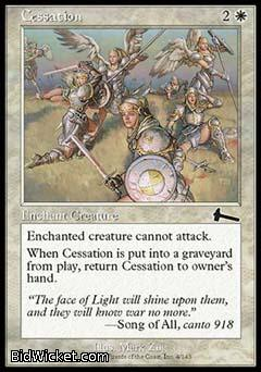 Cessation, Urza's Legacy, Magic the Gathering