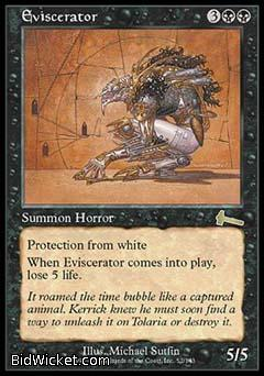 Eviscerator, Urza's Legacy, Magic the Gathering