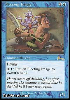 Fleeting Image, Urza's Legacy, Magic the Gathering