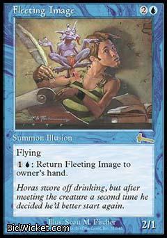 Fleeting Image, Urza's Legacy, Magic the Gathering